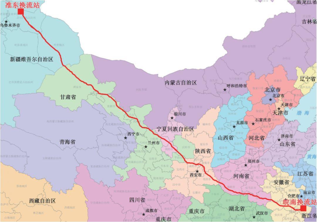 全球最牛输电线路投入运行